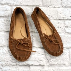 Lucky Brand women's Leather Moccasins size 8